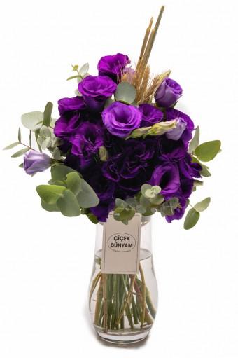 Purple Lisyantus